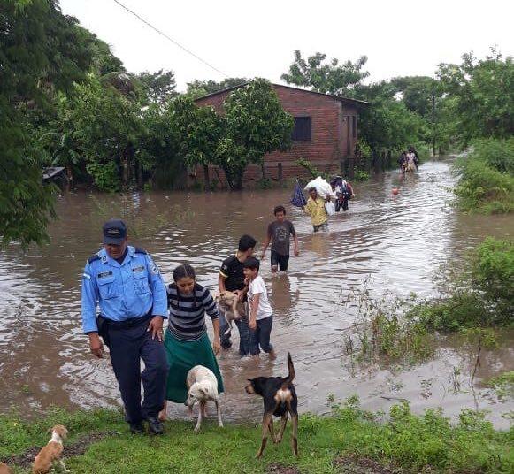 Copeco extiende la Alerta Roja en Francisco Morazán, Choluteca y Valle