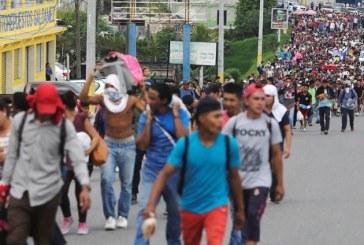 La caravana de migrantes hondureños que desafía la política migratoria de Trump