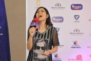Katheryn Banegas llega a San Pedro Sula para agradecer apoyo del público en La Academia
