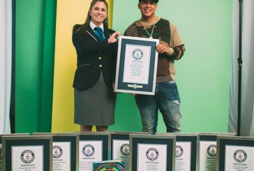 Daddy Yankee se hace acreedor a 10 récords Guinness