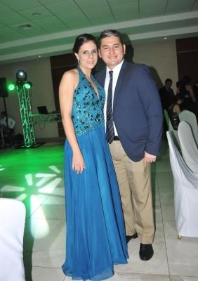 Danilo Serrano y Evlyn Kafati