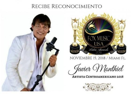 Felicidades a Javier Montiel por el reconocimiento recibido de Fox Music USA