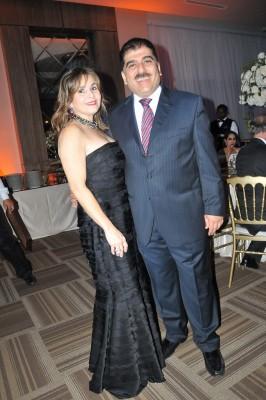 Jorge Faraj y Elena Pumpo de Faraj
