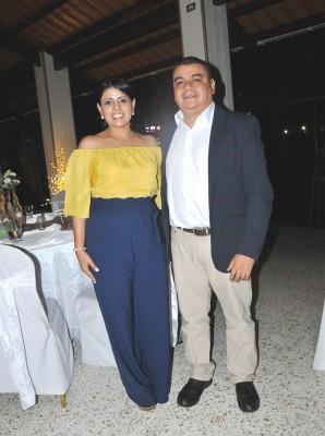 Kensy Vallecillo y Juan Carlos Vallecillo
