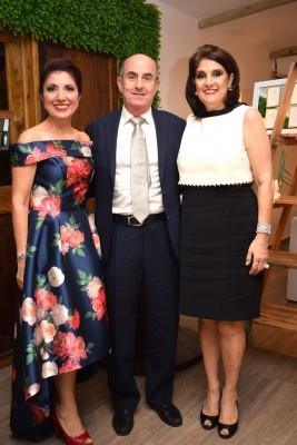 La madre de la novia, Mavis Aragón, Maribel y George Andonie