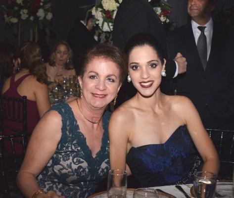 Lilian de Fonseca e Isabela de Cerna