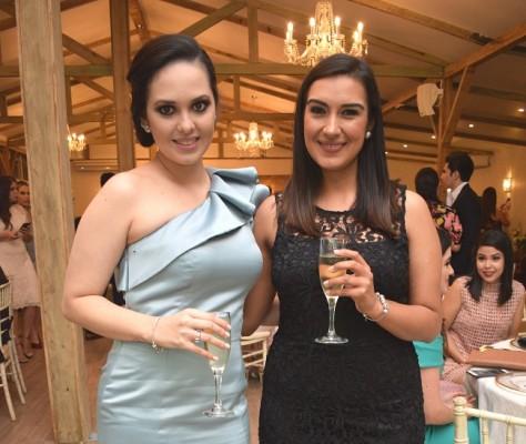 Loreth Serrano y Laura Morales