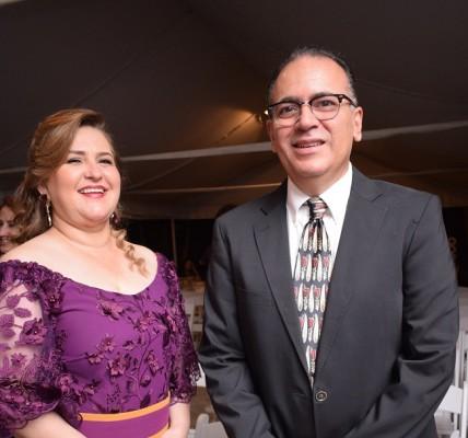 Los padres del novio, Alejandra Perdomo y Carlos Mejía