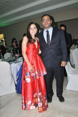 Luis Enrique Jovel y Jessenia Regalado