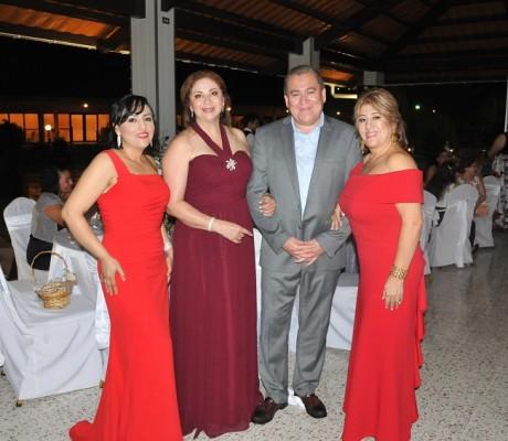 María Figueroa, Sonia Cardona, Juan Carlos y Olga Figueroa