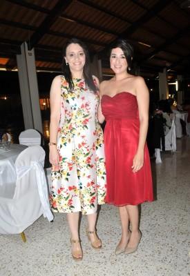Marina Sánchez y Eilyn García