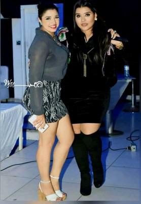 Mayra Pastrana con la Diva de la bachata Karli Ortega