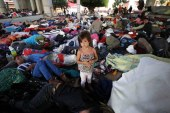Migrantes hondureños rechazan oferta de México y optan por continuar su camino a EEUU