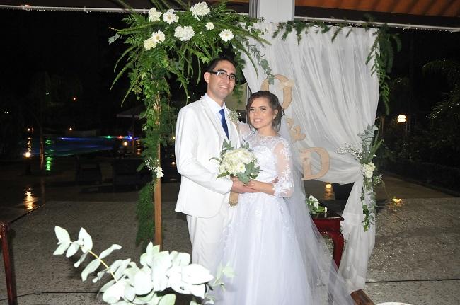 """La boda de Daniela y Orlando…Un """"Sí, quiero"""" con la lluvia como telón de fondo"""