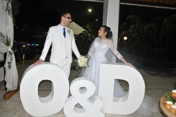 Orlando Ramírez y Daniela López fueron los protagonistas de una hermosa historia de amor escrita en mayúsculas