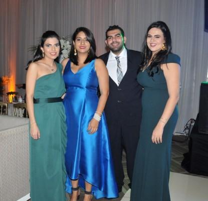 Sofía Jaar, Tuty Herrera, Antony Aude y Alejandra Aude