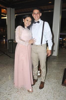 Wilma Ordóñez y Brian Sierra