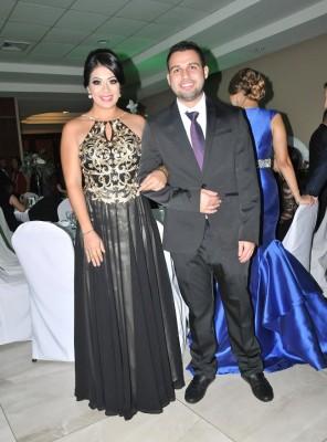 Xiomara Mateo y Gustavo Urtecho