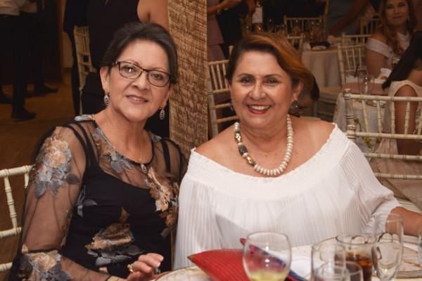 Zaira de Verdial y Gloria de Galeano