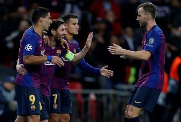 FC Barcelona venció al Tottenham 4-2 en la segunda jornada de la Champions