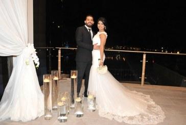 La historia de amor de Ángel y Sofía hecha boda