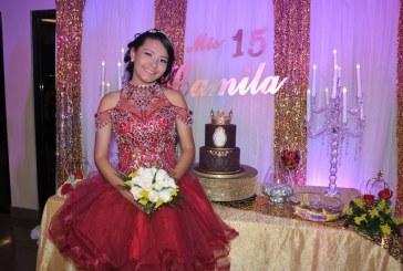 Camila Michelle…una radiante quinceañera