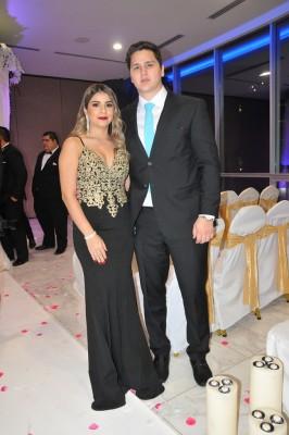 Celmira Fiallos y Jesús Ortega