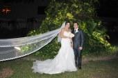La boda de Cindy y Walter…dos destinos entrelazados a la luz de las estrellas