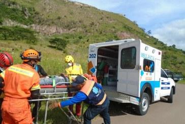 Conmemoran 20 años del paso del huracán Mitchen con simulacro en el cerro El Berrinche