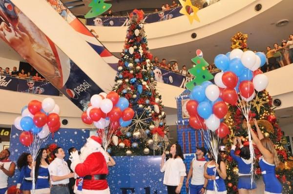 Navidad en Mall Galerias del Valle