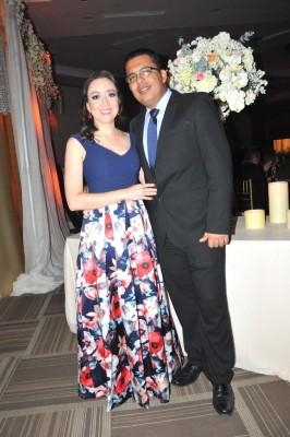 Dalila Erazo y Ricardo Maradiaga