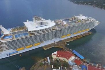Symphony of the Seas: La ciudad flotante más grande del mundo llegó a Roatán