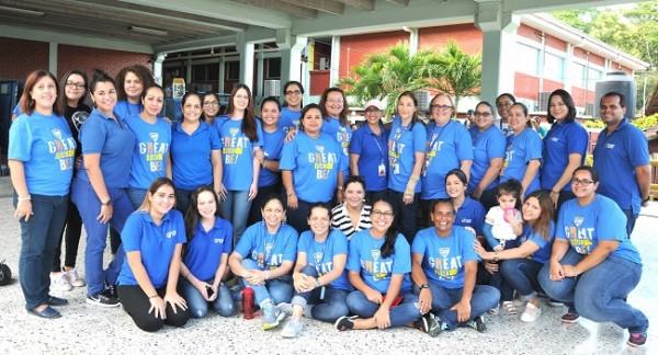 El staff de catedráticos de la Escuela Episcopal El Buen Pastor