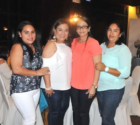 Estela Portillo, Ana de Bados, Lidia Andrade y Ada Manzanares