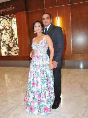 Francisco y Nashla Abufele