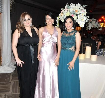 Gabriela Acosta, Beverly Rivera y Seidy Rivera