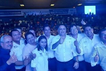 """""""El partido está vivito y coleando"""" dicen nacionalistas en preconvención celebrada en San Pedro Sula"""