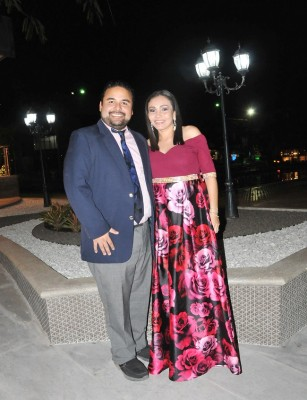 José Mauricio Velásquez y Aleyda Argueta