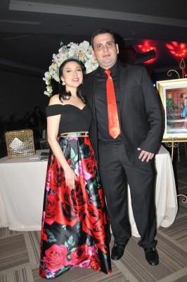 Karla Piotun y Carlos Andonie