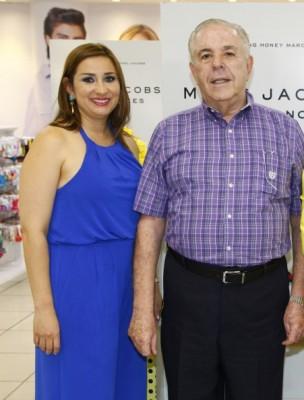 Jenny Carrión con León Fiszman que mañana estará de plácemes ¡Congratulaciones!