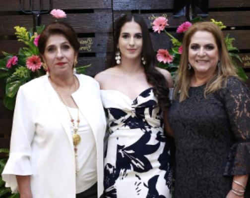 Lima Zgheibra, Daniela Bendeck y Elida Dieck