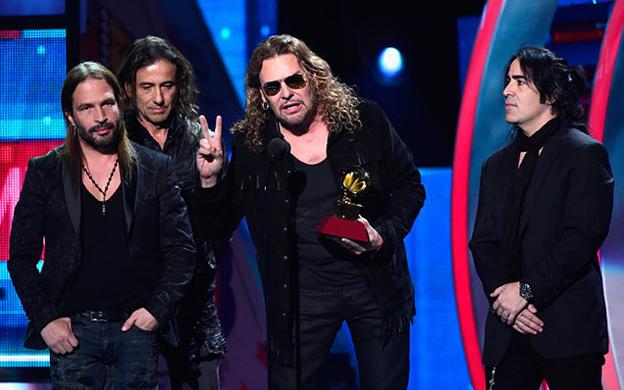 """Maná recibe el premio """"Persona del Año"""" en los Latin Grammy 2018"""