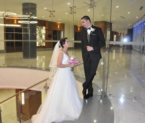 María Lucía y José Miguel partirán en su viaje de luna de miel en un crucero por El Caribe el 19 de noviembre, regresando el 2 de diciembre a Honduras.