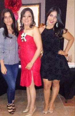 Mildred,Cindy y Joseline Granados