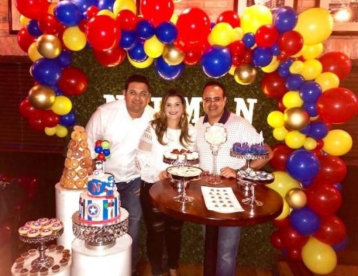 Raúl Bueso, Alicia Sikaffy y Norman Martinez