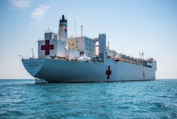 El Buque Hospital USNS Comfort de la Armada de Estados Unidos llega en diciembre a Honduras