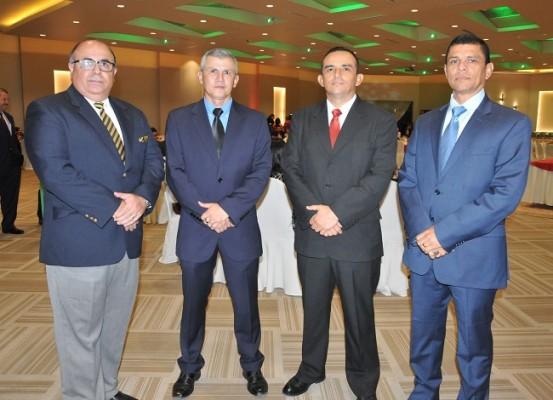 Yaco Lozano, Roosevelt Hernández, Mario Bueso y Tulio Romero