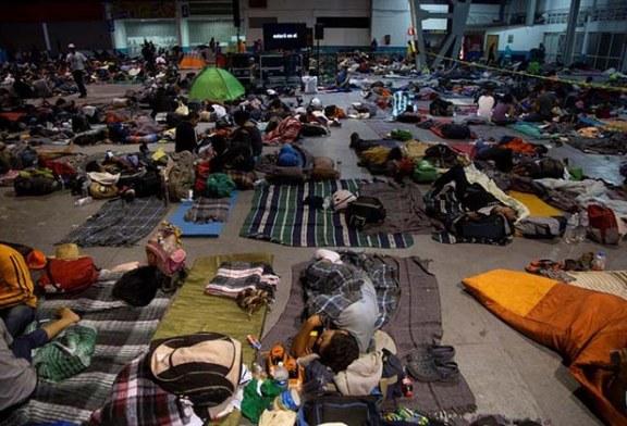 Caravana de migrantes llega a Guadalajara, punto intermedio en su camino hacia EEUU