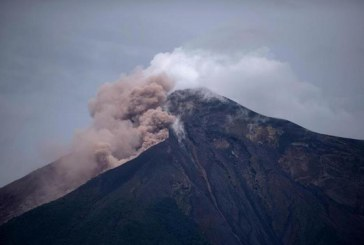 El volcán de Fuego de Guatemala entra en una nueva fase erupción