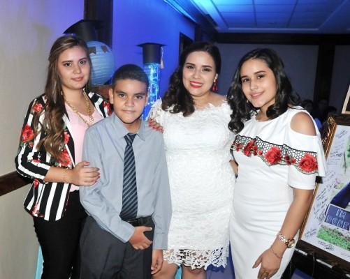 Ana Suyapa, Juan Ramón, Heidy y Sofía Teresa Aguilera Álvarez